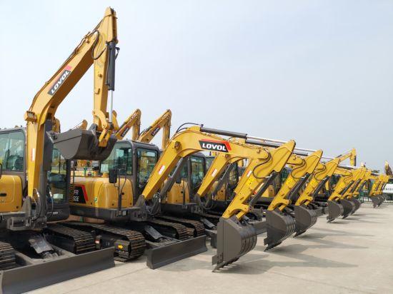 China Lovol Crawler Excavator Fr220d RC Hydraulic Excavator for Sale