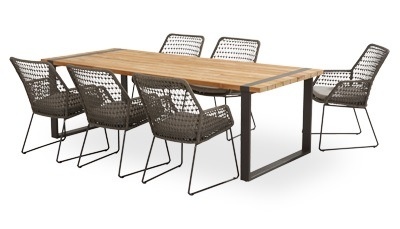 Wholesale Garden Outdoor Customized Dining Furniture