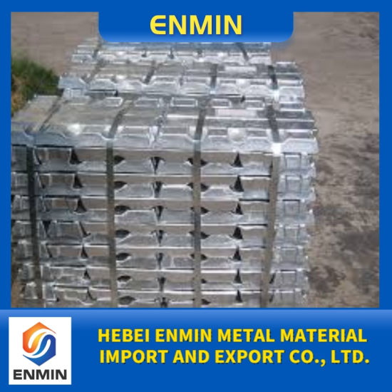 Professional Production Manufacturing Plant Zinc Alloy Ingot