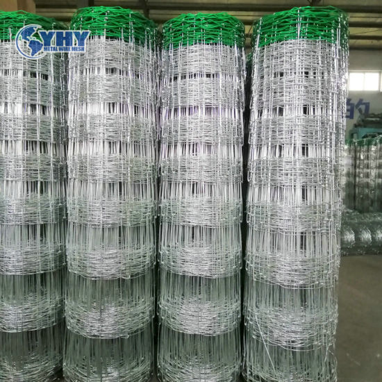 Hot Dipped Galvanized Woven Cattle Fence