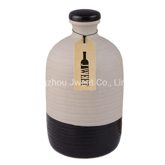 Custom 700 Ml Gin Ceramic Bottle