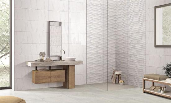 China Kitchen Backsplash Carrara Marble Look 300x600 Ceramic Wall Tile China Tile Floor Tile