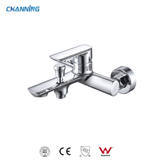 Hot Sell Wall-Mounted Bathroom Shower Faucets Brass Single-Lever Bath Taps and Mixers  (QT-72 3101)
