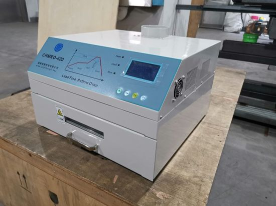 Reflow Oven Chmro-420 270*270mm Hot Air / Infrared BGA SMD SMT Rework Station