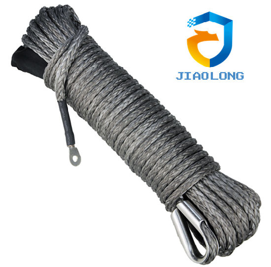 UHMWPE 12 Strands Winch Rope for 4X4