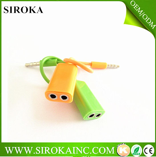 Wholesale 3.5mm Trrs Headphone Adapter Manufacturer&Factory&Exporter pictures & photos