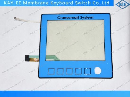 Customs Industrial Anti-Static Resistive Touch Control Panel with Membrane Keypad