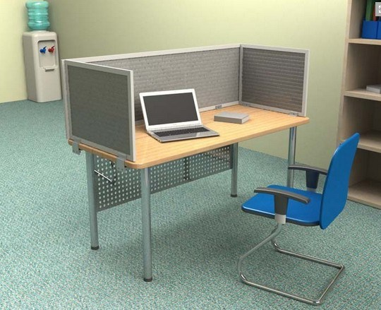Customized Office Furniture Soundproof Desk Screen