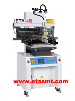 SMD Stencil Printer Semi Automatic Printer for PCB Assembly pictures & photos