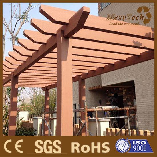 WPC Patios Timber Pergola Designs In Garden Or Balcony