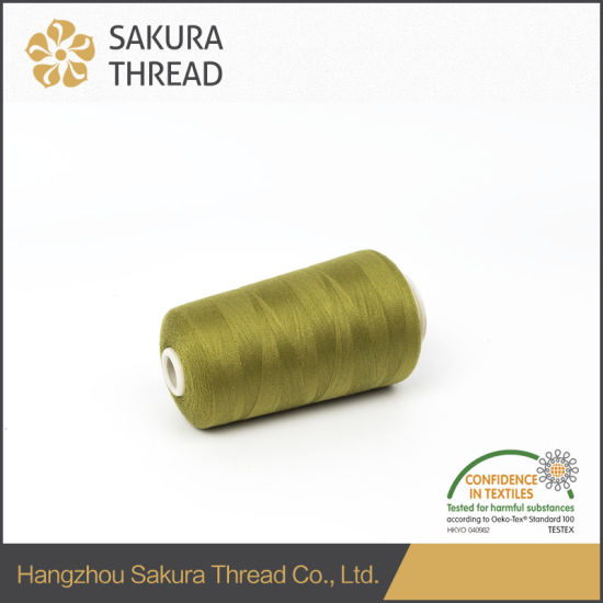 120d Flame Retardant Polyester Thread for Weaving with Oeko-Tex100 1 Class pictures & photos