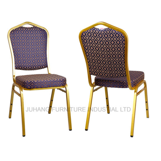 Porfessional Furniture Factory Fancy Fabric Dining Banquet Chair (HM-S014-2)
