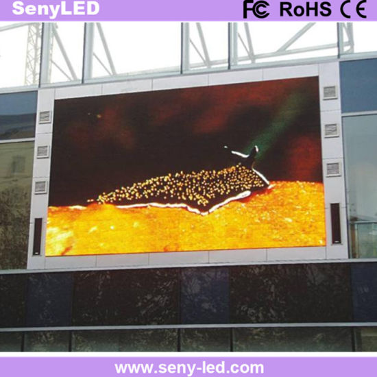 High Bight Energy Saving Ce, RoHS, FCC, Full Color Outdoor Fixed LED  Display Sign Board for Advertising