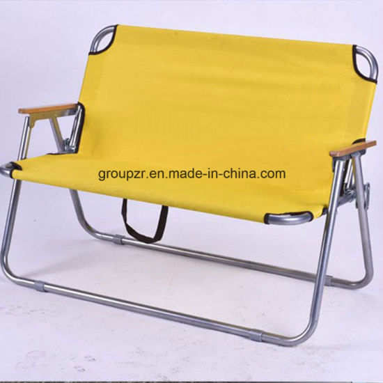 Metal Outdoor Folding Double Chair pictures & photos