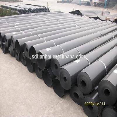 China Plastic Projects HDPE LDPE PVC 0 75mm Geomembrane Pond
