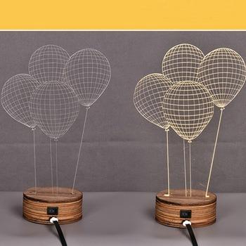 Amazing Acrylic LED Night Light Table Lamp Nice LED Gift