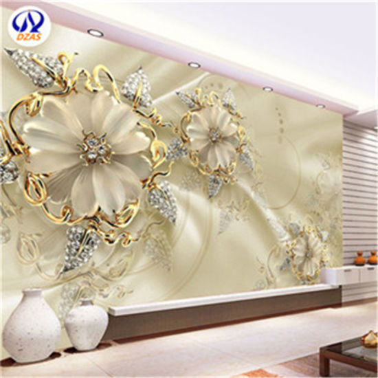 As Mc Custom Luxury Jewelry Large 3d Mural Living Room Sofa Background Wall Paper Video Wall Gem Wallpaper Wall Covering Murals