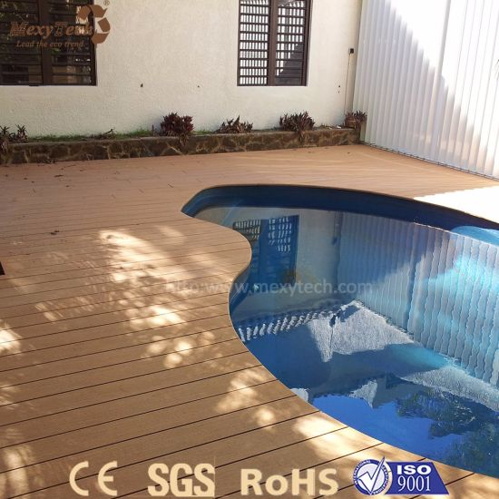 Best Selling UV Resistant Safety WPC Solid Wood Flooring for Garden pictures & photos