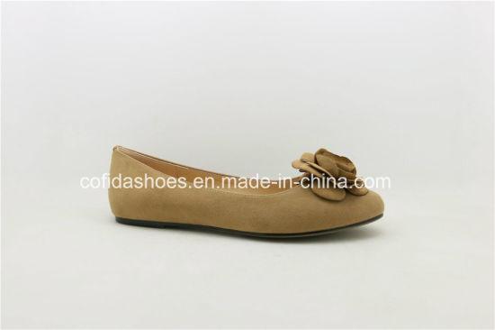 China Latest Soft Flat Leather Women