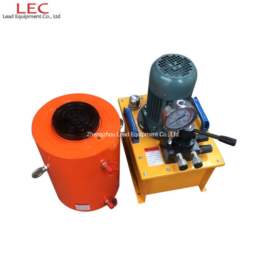 500 Ton Double Acting Construction Hydraulic Cylinder