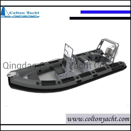 Aluminum Hull Rigid Inflatable Fishing Boats and Speed Boat with Engine