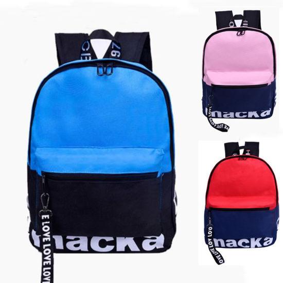 Factory Waterproof 600d Oxford Leisure Outdoor Kids Student School Backpack Bag