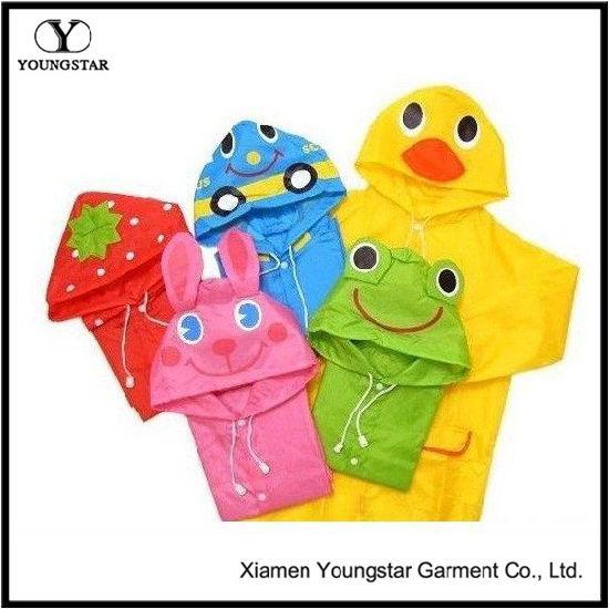 067b3cf63b68 China Toddler Baby Cheap Animal Yellow PVC Raincoat Jackets - China ...