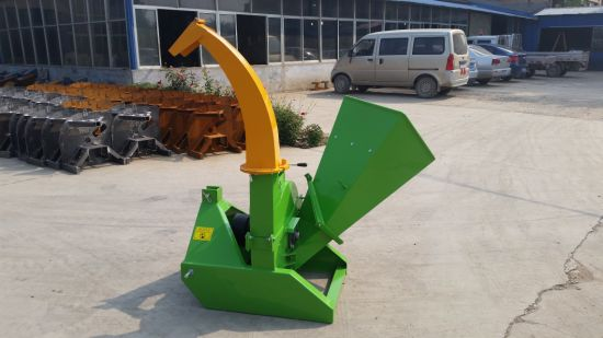 Tractor Mounted Pto Driven Large Wood Chipper Shredder Bx92r