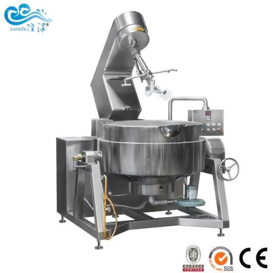 Factory Supply Industrial Automatic Cooker Mixer Machine for Bean Paste by Ce SGS Approved