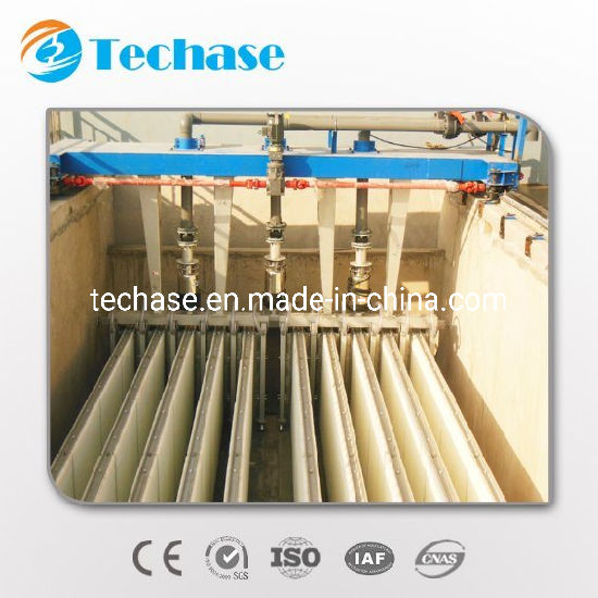 Techase Vertical Fiber Cloth Filter Remove Ss for Tertiary Treatment