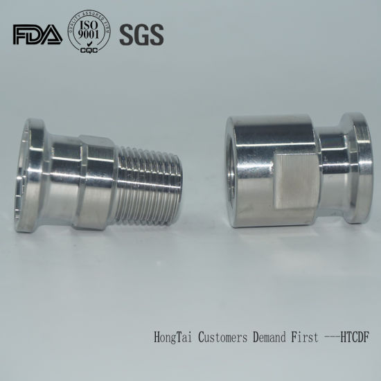Sanitary Stainless Steel Male Thread Welding Tri Clamp Ferrule I-Line Adapter