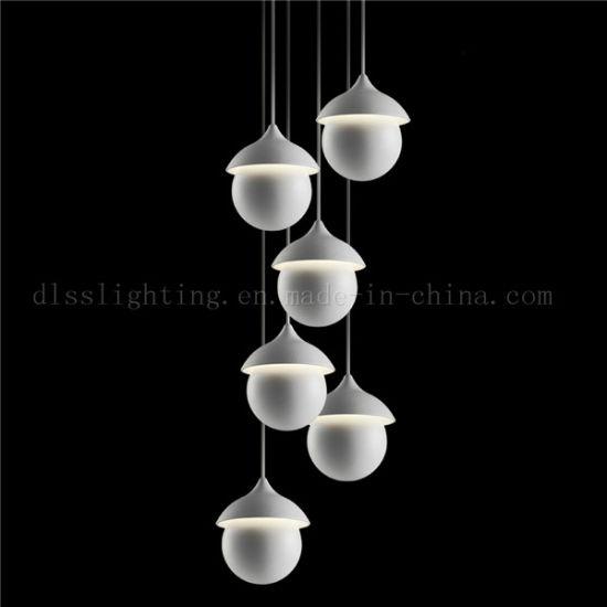 Italian Modern Style Iron Led Pendant Lighting For Indoor Decoration