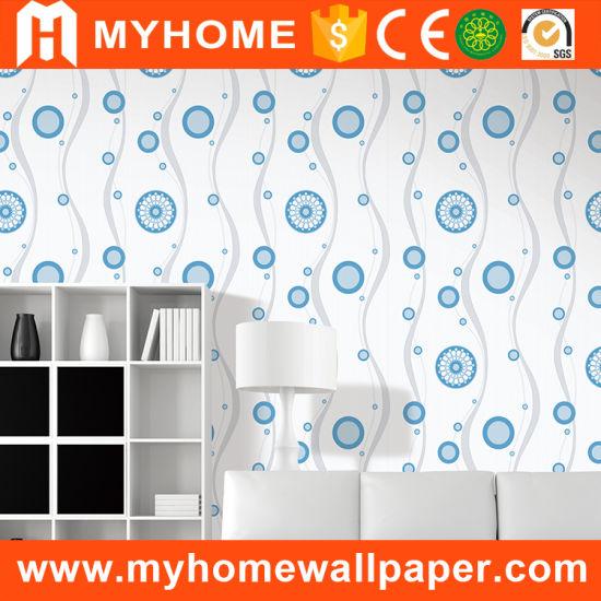 Interior Wall Decorative Material PVC Waterproof Cheap Wallpaper