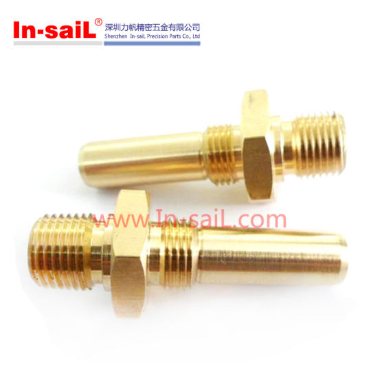Double-End Thread Rods with Hex Flange pictures & photos