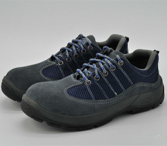 Ufa103 Blue Stylish Steel Toe Safety Shoes pictures & photos