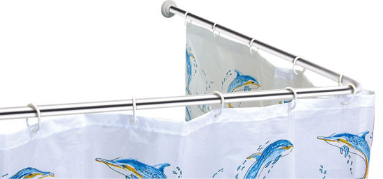 L Shaped Shower Curtain Rod pictures & photos