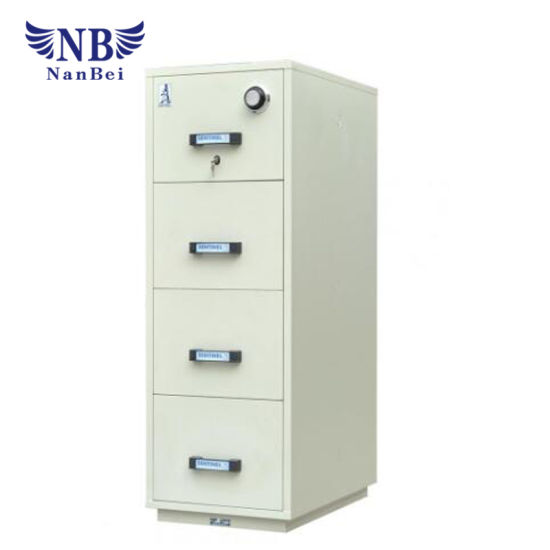 Frd40 Four Drawer 1 Hour Fireproof Cabinet pictures & photos
