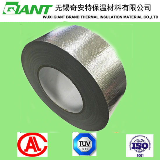 Kitchen Range  Fireproof Aluminum Foil Fiberglass Cloth Tape pictures & photos