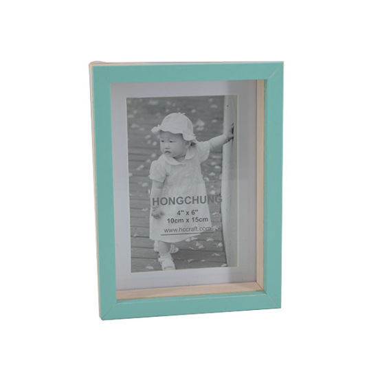 Colorful Printing Wooden Photo Frame for Home Deco pictures & photos