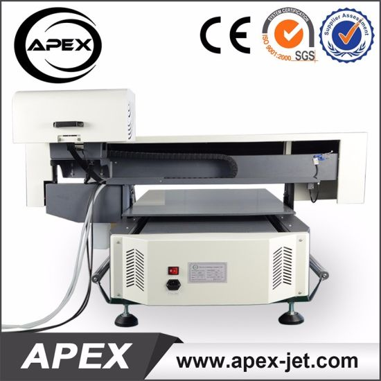 2018 New Design Digital Flatbed Printer Machine for Plastic/Wood/Glass/Acrylic/Metal/Ceramic/Leather Printing pictures & photos