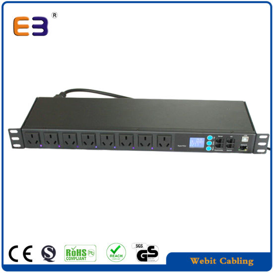 Remote Controlled Intelligent PDU for Data Center