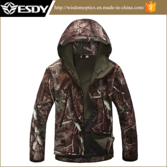 Sports & Entertainment Bright Top Quality Tactical Jacket For Men Military Camo Windproof Fleece Warm Outdoor Hunting Jackets Coats Spring Autumn Big Clearance Sale