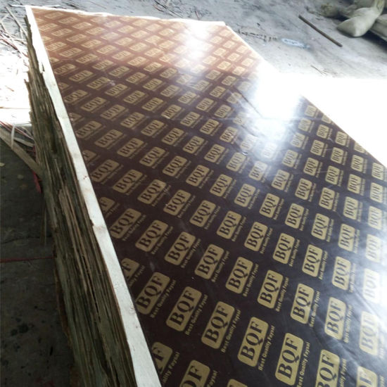 Shuttering/Film Faced/Construction Plywood Poplar Core BB/CC Grade WBP Glue pictures & photos