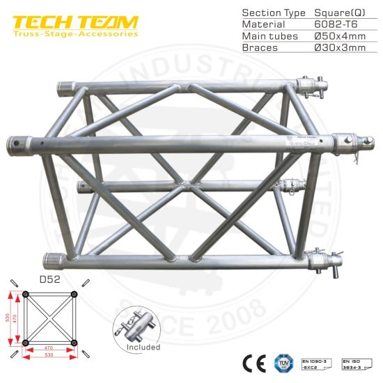 D52 Qs10 Roof Truss Design Wedding Stage Lighting