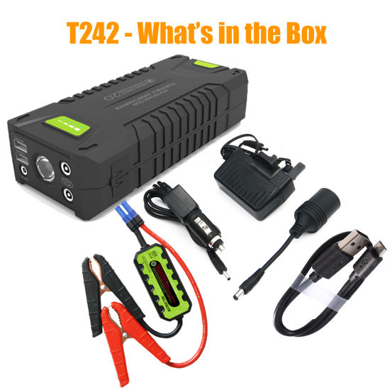 Best Multi-Function Portable Car Jump Starter Powerbank 20000mAh 1000A pictures & photos
