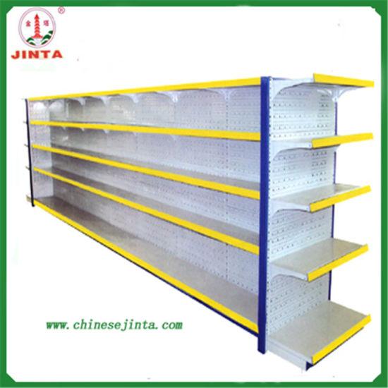 Metal Supermarket Shelf with Ce Certification (JT-A01)