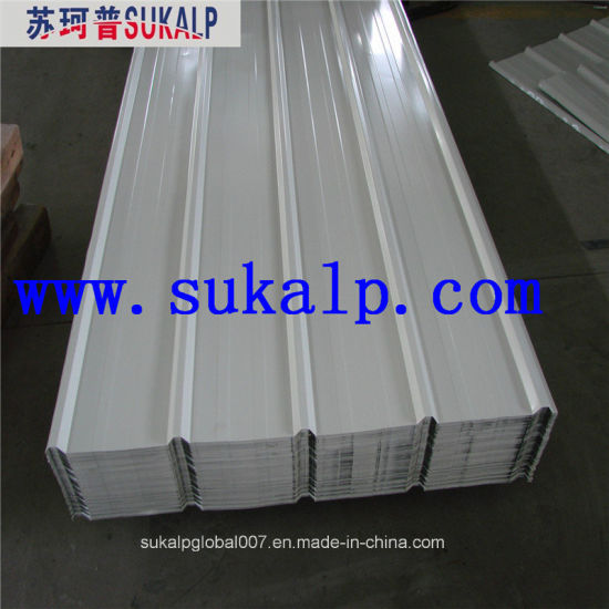 PPGL/PPGI/Pre-Painted Color Coated Corrugated Steel/Iron Roofing Sheet pictures & photos