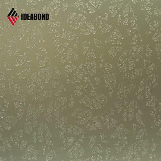Ideabond Carbody Decoration Embossed Aluminium Composite Paneling (EMBOSSED 000) pictures & photos