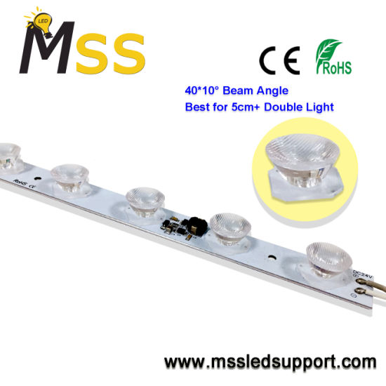24V Side Lighting LED Strip Rigid for Super Thin Double Side Lightbox