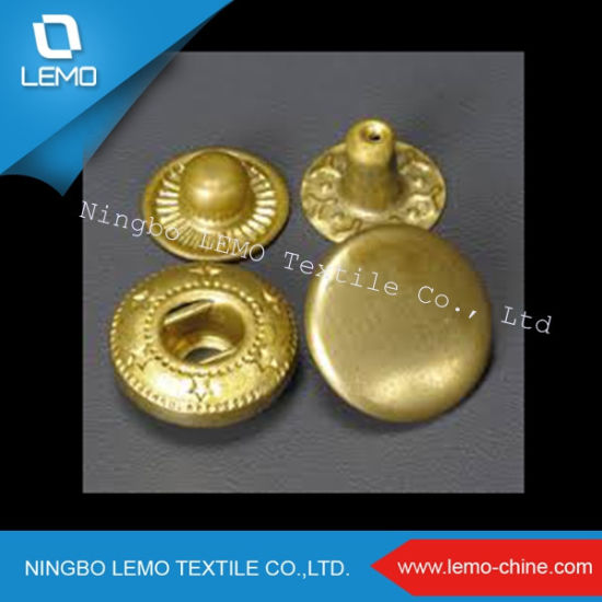 Sample Free Metal Shank Snap Button for Jeans